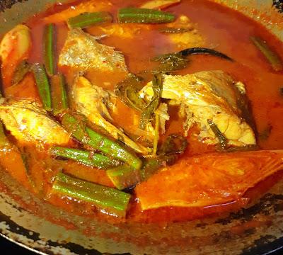 Resepi Ikan Gerut Masak Asam Pedas Style Johor