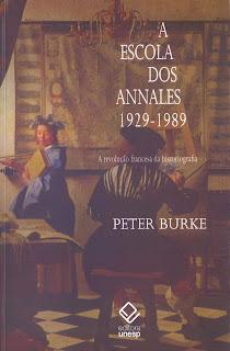 livro burke escola dos annales