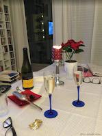Champagne på nyttårsaften!
