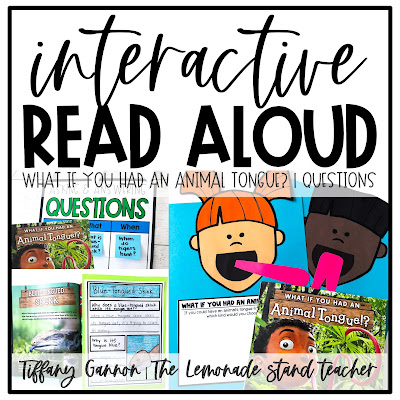 Asking and answering questions grade 2 activities, anchor chart, and craft