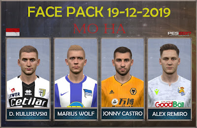 PES 2017 Facepack 19-12-2019 by Mo Ha