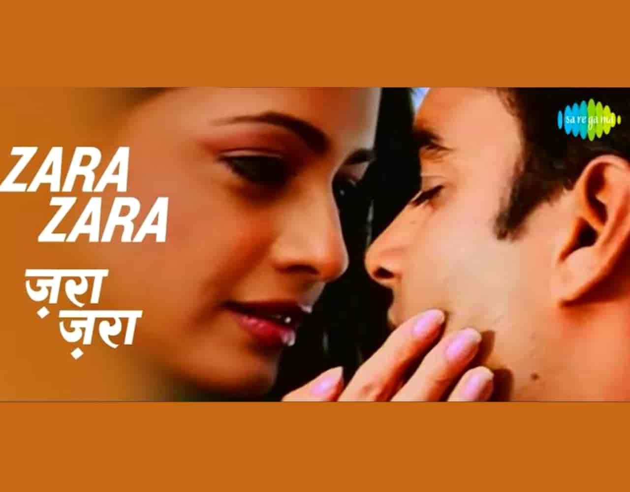 Zara Zara Hindi Romantic Song Lyrics, Sung By Bombay Jayashri.
