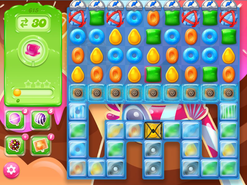 Candy Crush Jelly Saga level 615