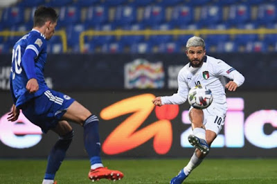 ملخص واهداف مباراة ايطاليا والبوسنة والهرسك (2-0) دوري الامم الاوروبية