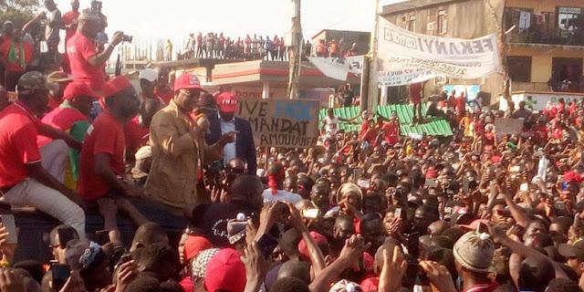 Guinéealtercation à la marche funèbre  le président de l'UFDG rejette en bloc les arguments de général Baffoé