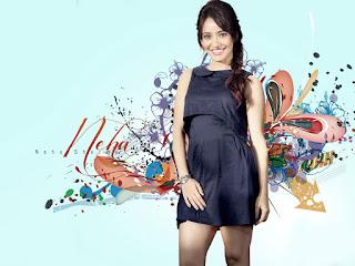 Neha Sharma In Black Top