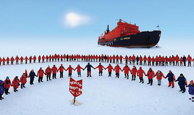 Polo Norte não desapareceu como falaram os profetas catastrofistas