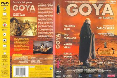 Carátula dvd: Goya en Burdeos (1999) - Película online