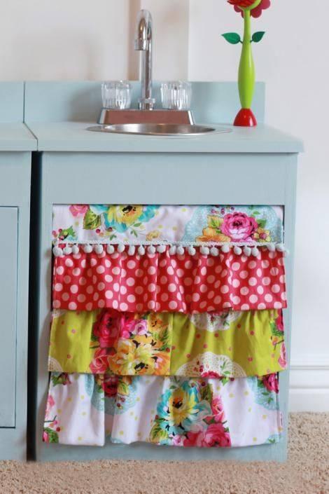 idea langsir bawah sinki dapur