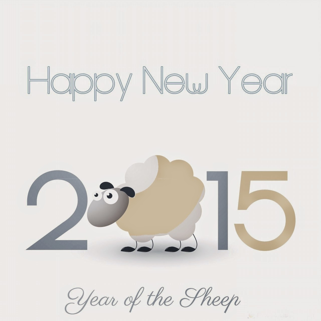 Chinese New Year 2015 Sheep.5 Happy New Years Pictures Color 2014