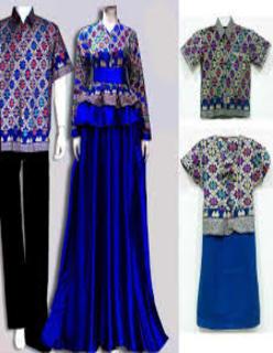 Model Baju Couple Bahan Batik