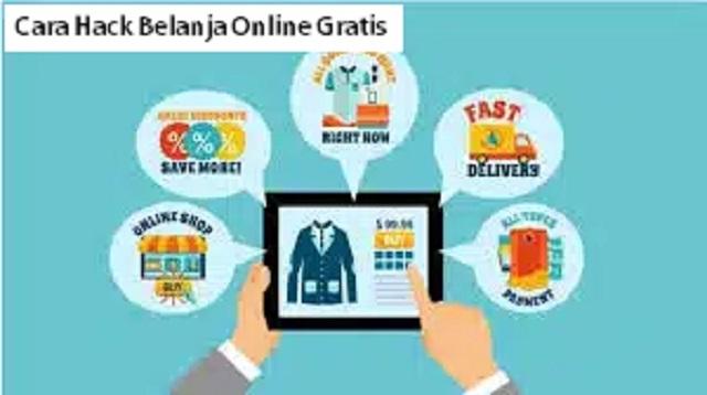 Cara Hack Belanja Online Gratis
