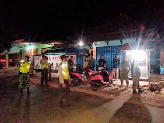 Gelar Operasi Yustisi Aparat Gabungan Sambangi Tempat Nongkrong Warga Dimalam Hari