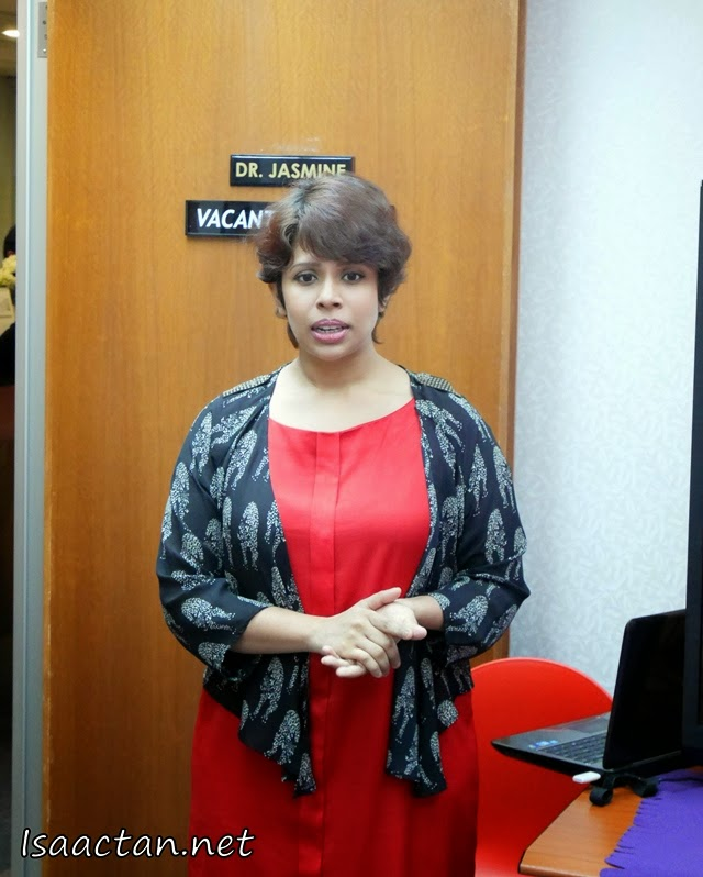 Mediviron UOA Clinic's Clinical Division Director, Dr. Jasmine Ruth