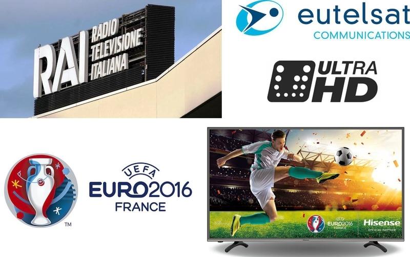 Ultra HD RAI TV Channel Now Free to Air FTA TV on Hotbird