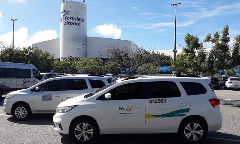 Serviço de taxi no aeroporto de Fortaleza