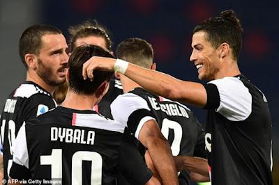 Ronaldo quên nỗi buồn mất cúp, bùng nổ tái xuất Serie A cực chất 8