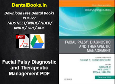 Facial Palsy Diagnostic and Therapeutic Management PDF