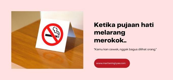 tidak boleh merokok