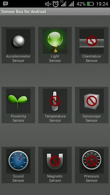 Aplikasi Sensor Box For Android