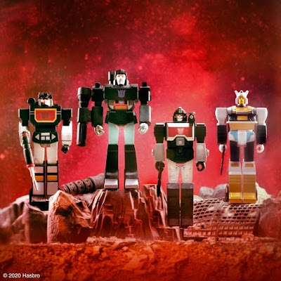 Transformers G1 Black Friday Edition ReAction Figures by Super7