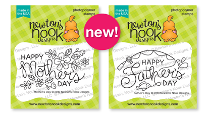 Mother's Day and Father's Day Mini Stamp Sets by Newton's Nook Designs #newtonsnook
