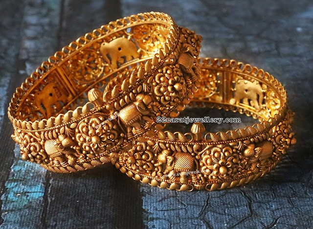 Antique Bangles Elephant Design