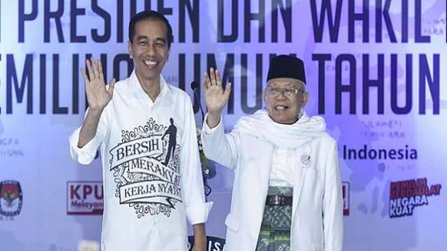 Y-Publica: Elektabilitas Jokowi-KH Ma'ruf Amin Meroket
