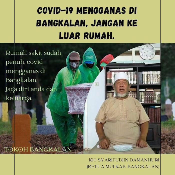 Kiai dan Ulama Bangkalan menjadi Teladan, Cegah Meningkatnya Penyebaran Covid-19.