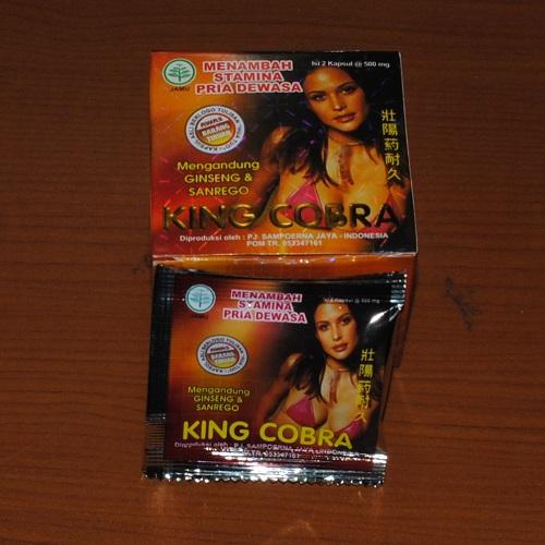 obat kuat king kobra harga dan ongkos kirim obat kuat king cobra