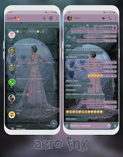 Princess Pink Theme For YOWhatsApp & Aero WhatsApp By Ave fénix