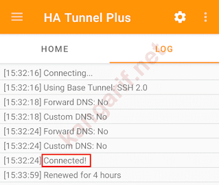 ha tunnel plus sushiroll axis connected