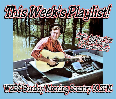 WZBC's Sunday Morning Country: April 2018