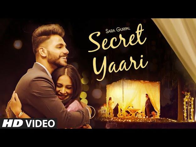 Secret Yaari Song Lyrics - Sara Gurpal   Starboy Music X   Jaskaran Riar   Latest Punjabi Song 2020 Lyrics Planet