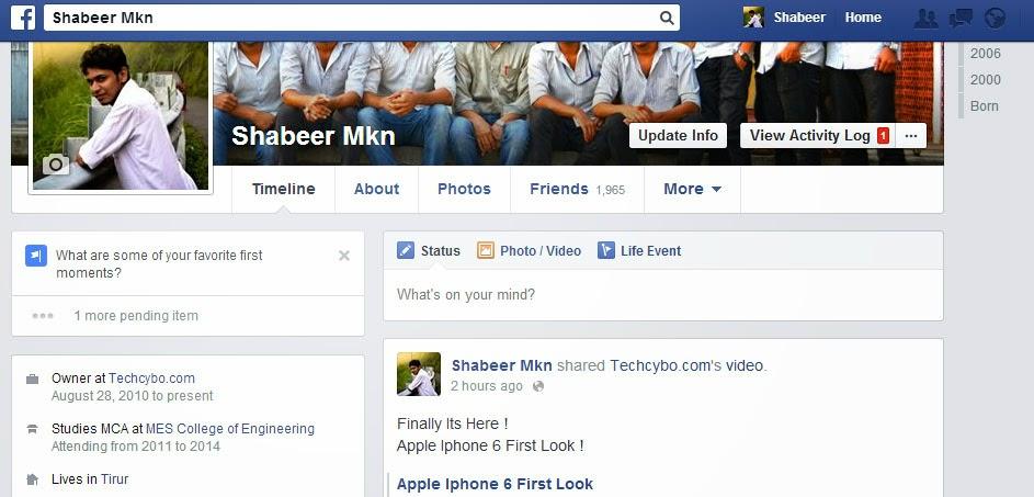 How to See Hidden Photos of your Facebook Profile - TechCybo