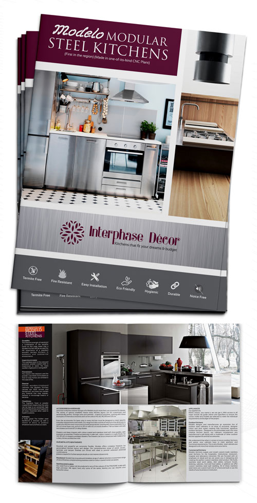 modular kitchen brochure