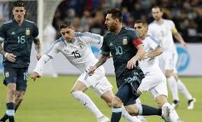 Deportes : Argentina y Uruguay igualaron 2 a 2 en un amistoso