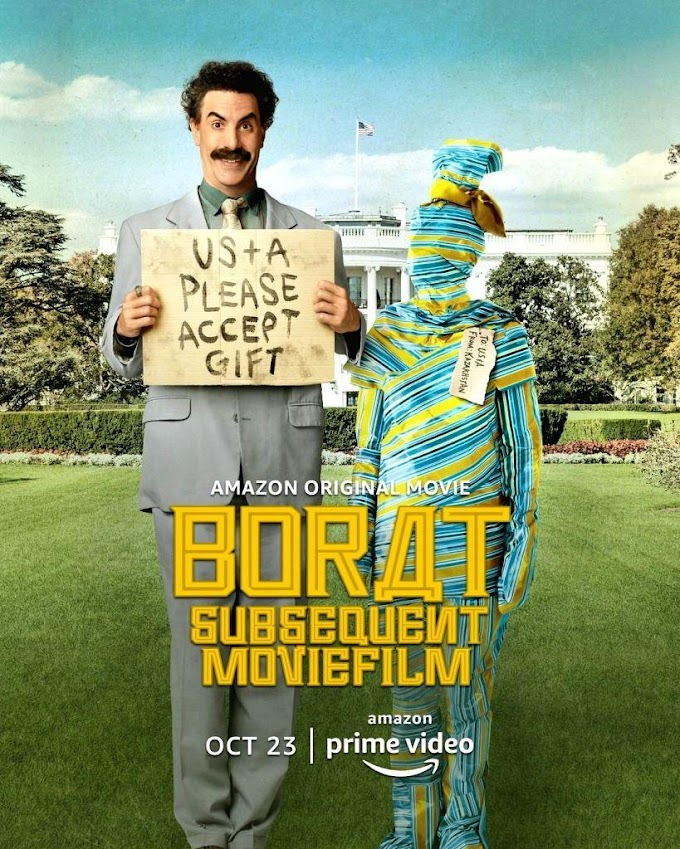 Borat 2 La secuela... Sasha Baron Cohen demostrando una vez mas, que es el rey de la provocación.