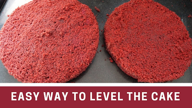 How to Level a Cake - Cake Leveler - Easy Way to Level A Cake