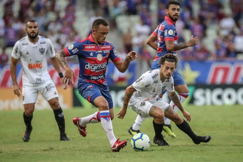 Fortaleza e Athlético Mineiro 2021
