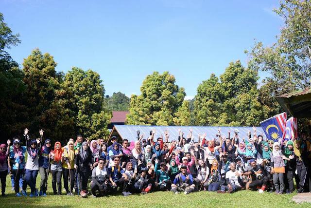 Program Ke-2 Terokai Lahad Datu Kembara Air Terjun Taliwas Trail 5.5KM Sempena Hari Malaysia Ke-54