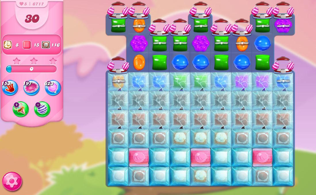 Candy Crush Saga level 6717