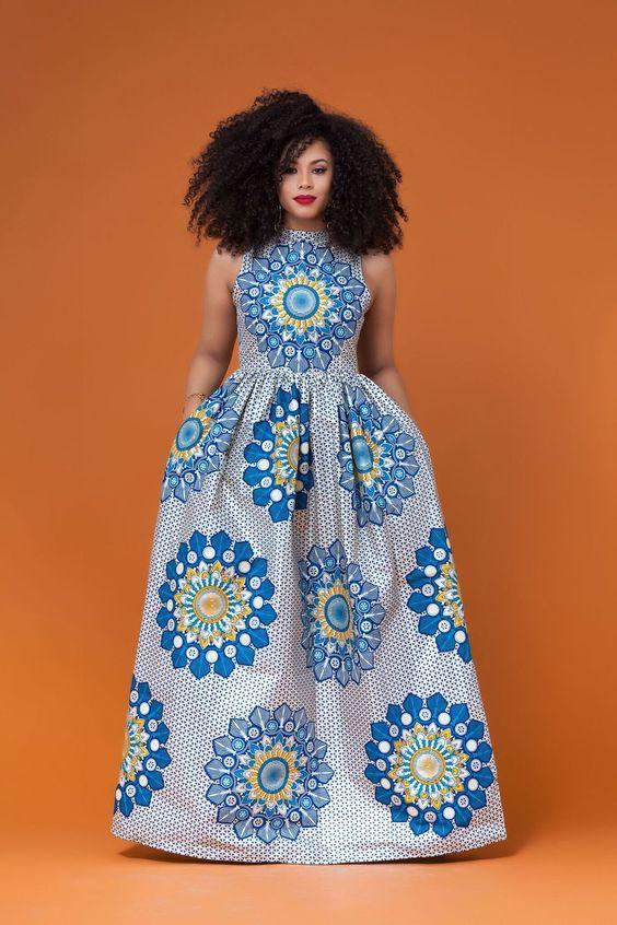 Ankara Xclusive: Wakanda Latest Ankara Maxi Dress Styles ...