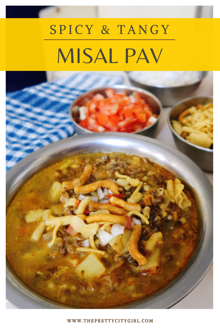 spicy misal recipe pinterest