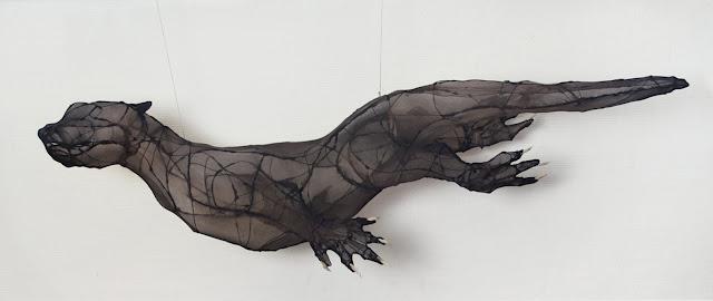 art animalier,   art textile contemporain
