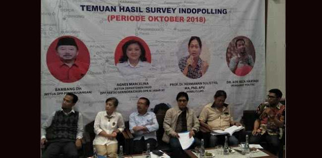 Gerindra Salip Golkar Di Jabar Akibat Efek Elektoral Prabowo
