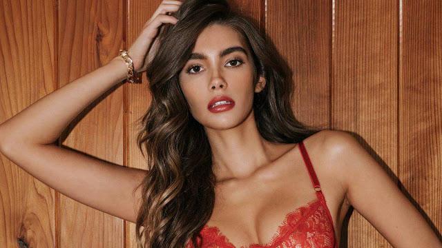 Cindy Mello sexy lingerie model photo