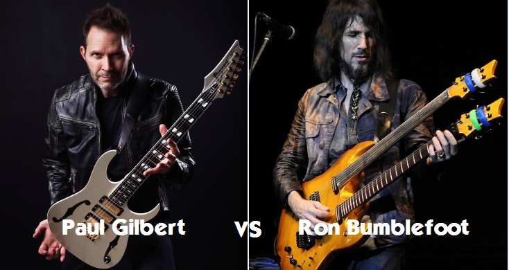 Ron Bumblefoot VS Paul GILBERT