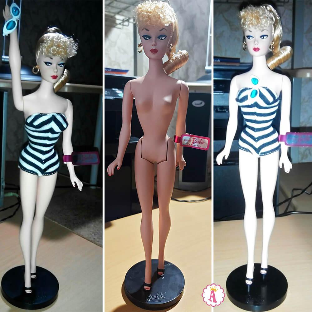 Тело Silkstone Barbie у куклы Барби 75-летие