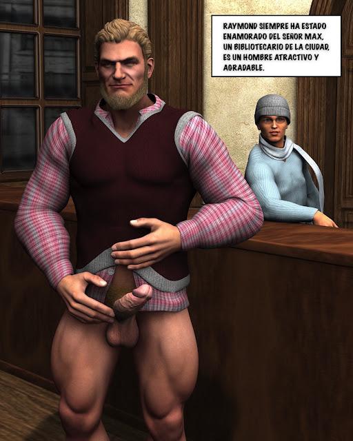 PORNO GAY EN LA BIBLIOTECA